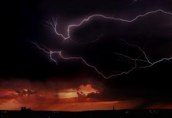 De l'orage dans l'air