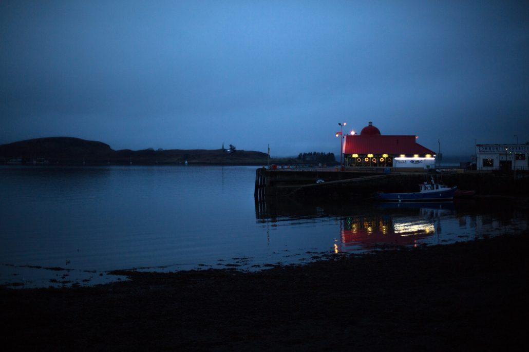 Oban Harbor, Scotland