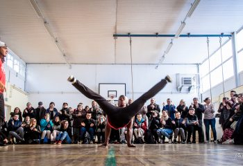 Bboy Archad French Wingz crew