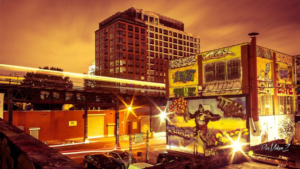 The Graffiti Mecca : 5Pointz