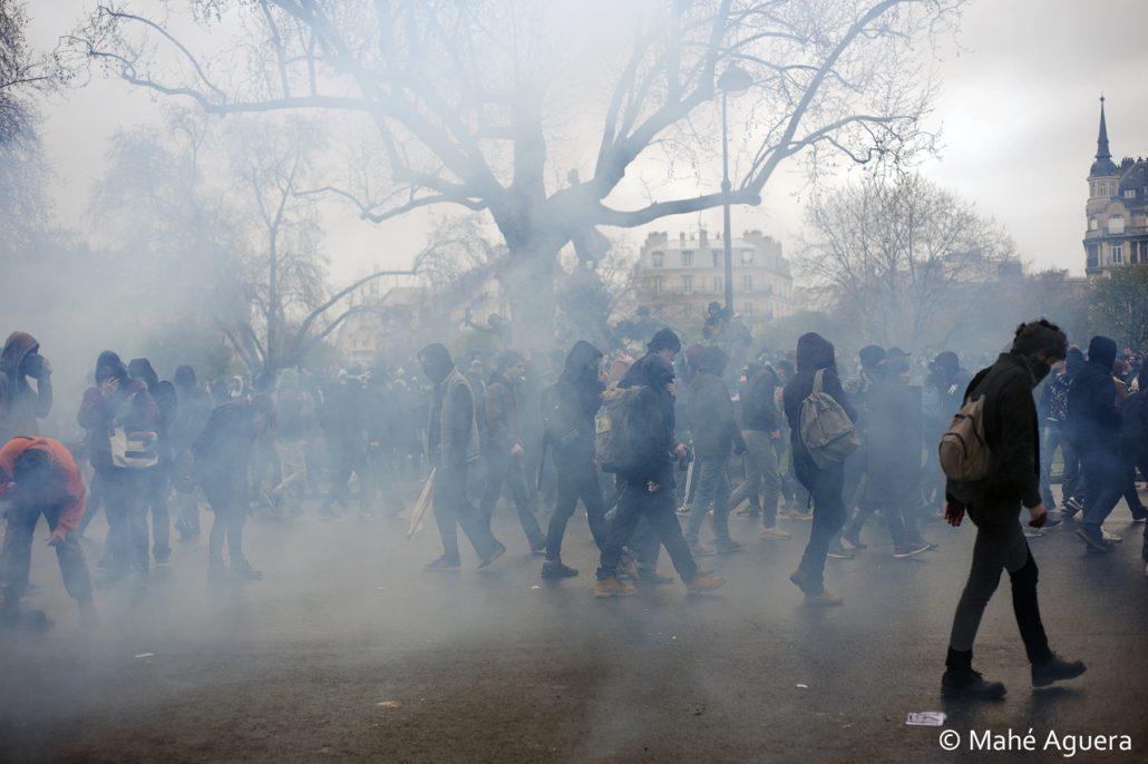 Manifestation pour l'abrogation de la loi travail – Avril 2016 –
