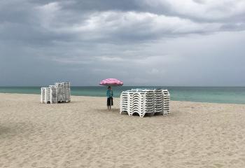 Miami sous la pluie
