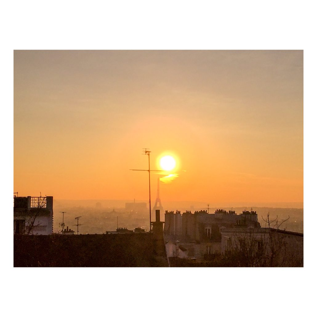 Tour Eiffel sunset