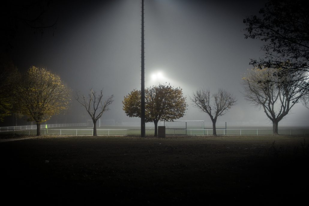 Foggy night #1