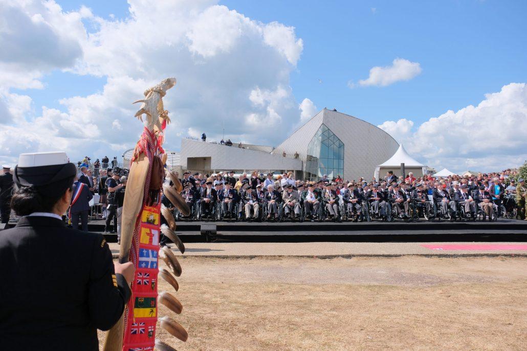 6 juin 2019 75 éme anniversaire du débarquement à Juno Beach