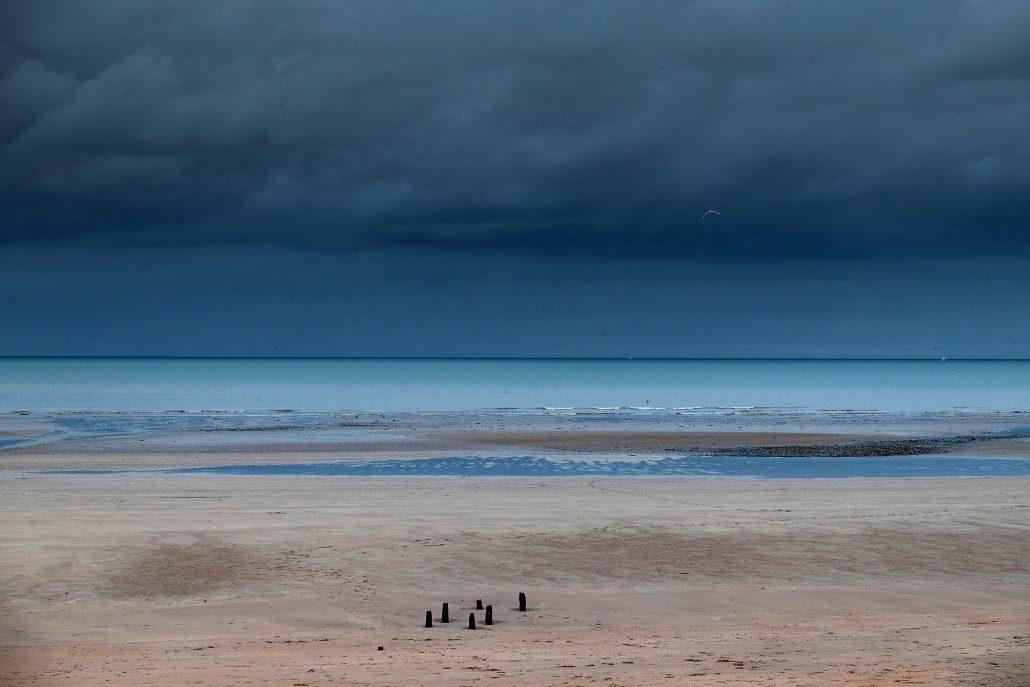 Elles sont belles les fin journée sur les côtes Normandes
