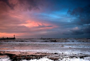 Entre deux tempêtes sur la côte Normande