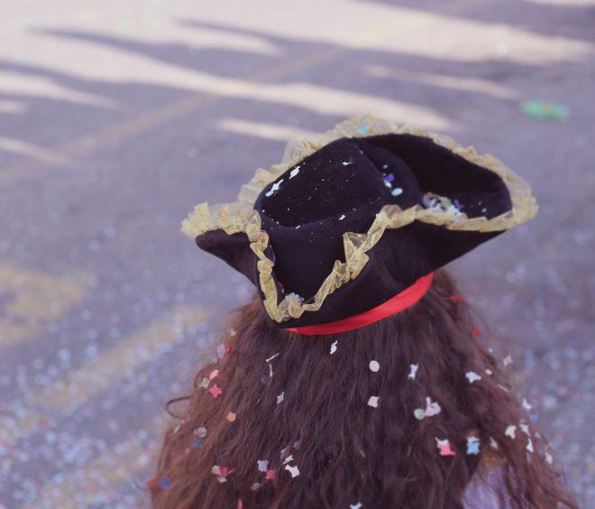 Pirate & confettis