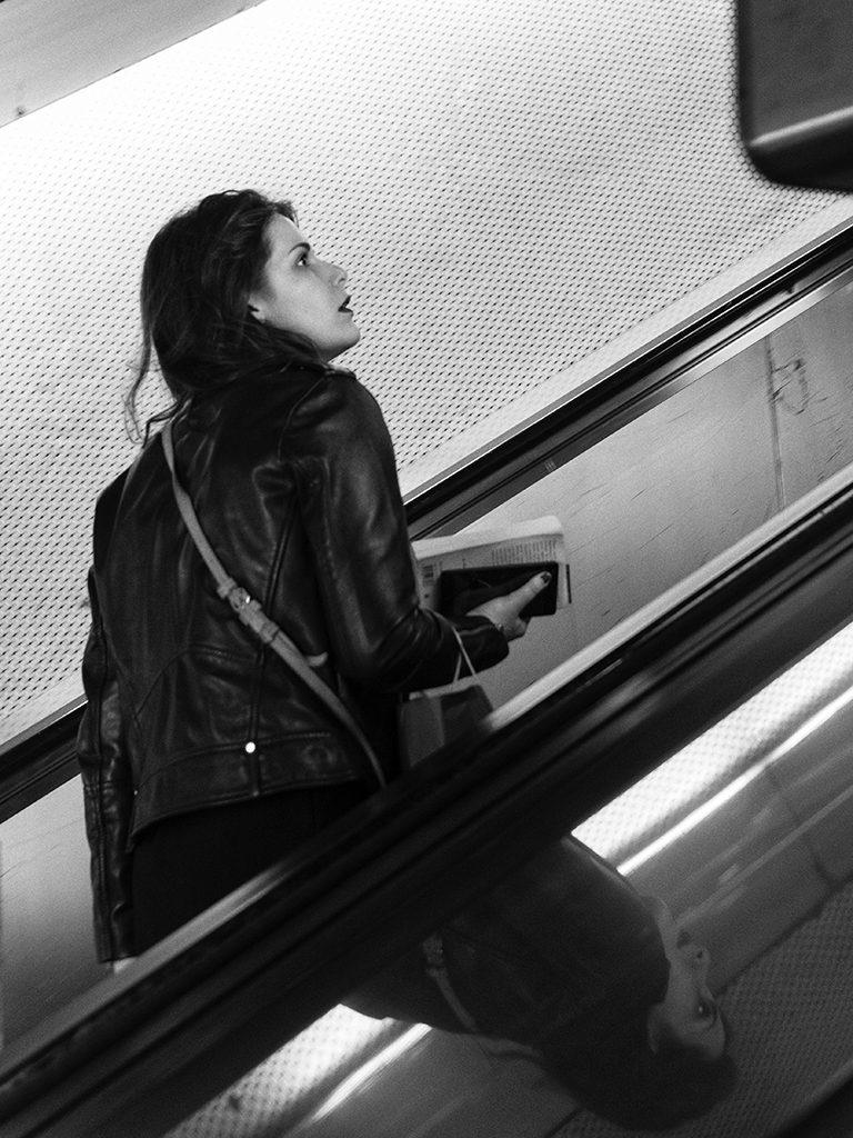 La passante du RER