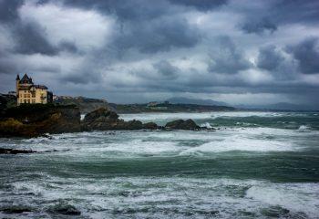 Tempête sur la Côte des Basques
