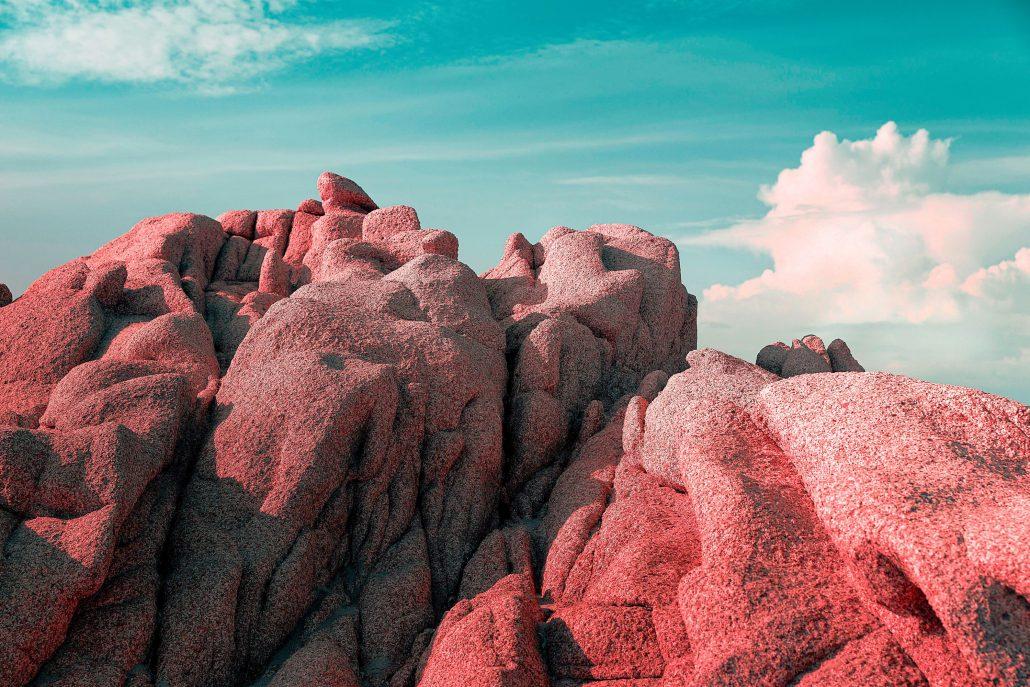 Colored rocks #2
