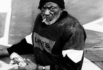 Homeless in Wynwood Walls