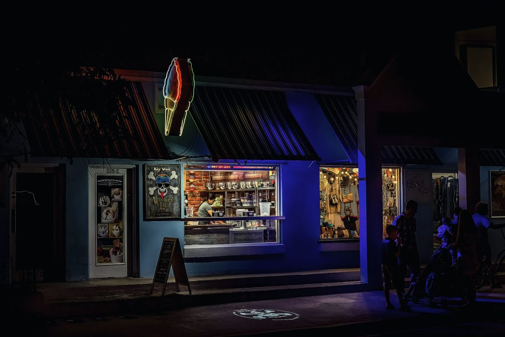 Key West by night