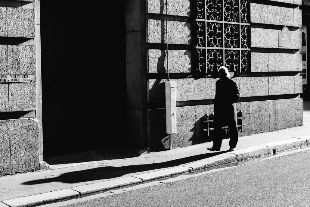 L'ombre rue Laffite, Paris – 2016