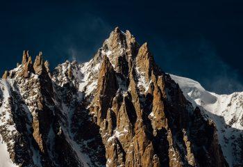 Aiguilles du Diable et Mont-Blanc du Tacul 4248 m