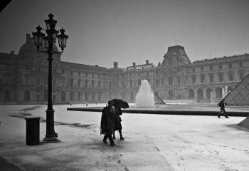Tempête sur le Louvre