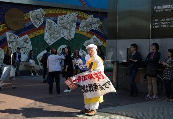 Un manifestant