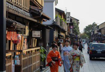 Dans les rues de Kyoto
