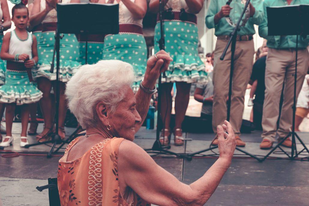 96 ans de Flamenco