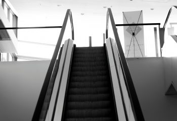Escalator spacial