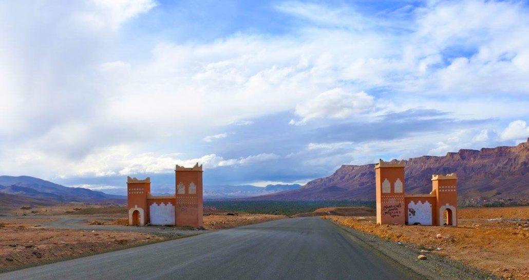 Portes vers le désert marocain