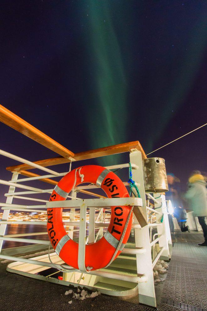 Sur le pont pour l'aurore boréale