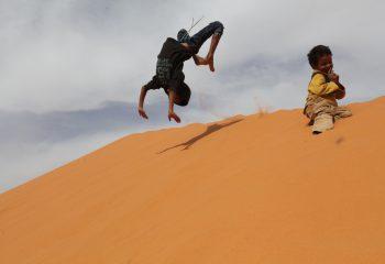Enfants du désert