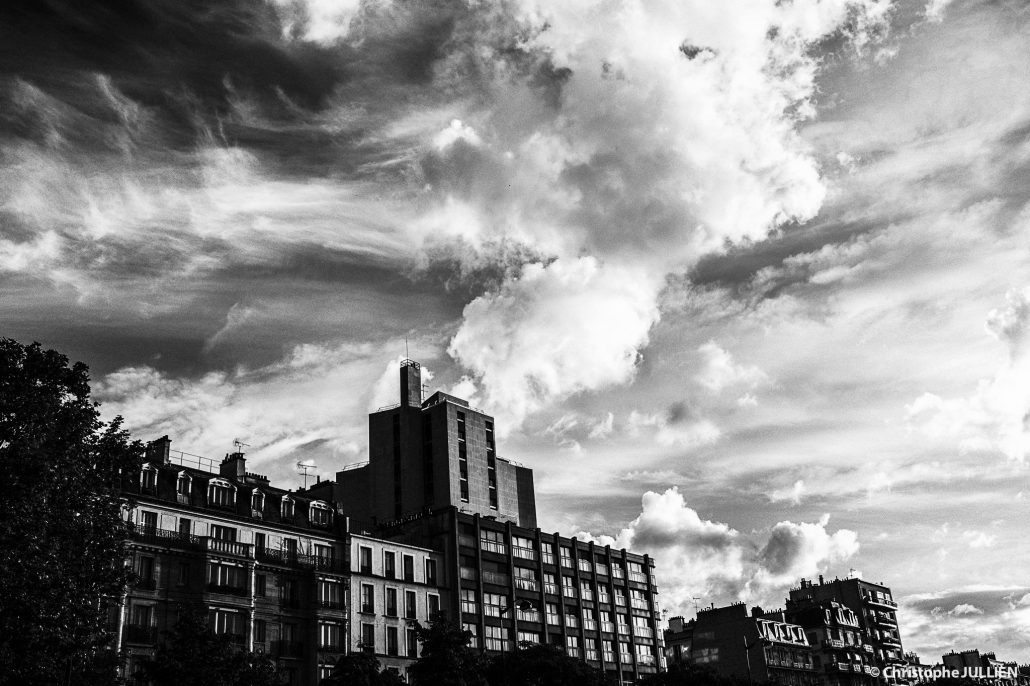 Ciel de Paris – 14 mai 2017