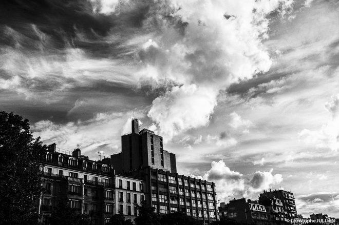 Ciel de Paris - 14 mai 2017
