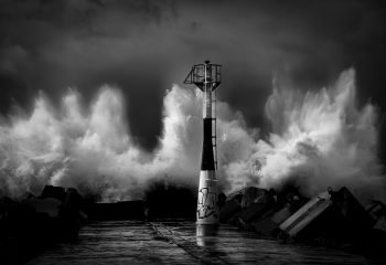 Storm on Anglet
