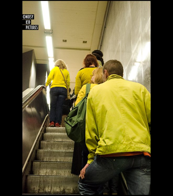Yellow world from Brussels
