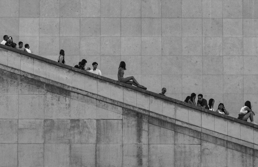 Escaliers du Trocadéro