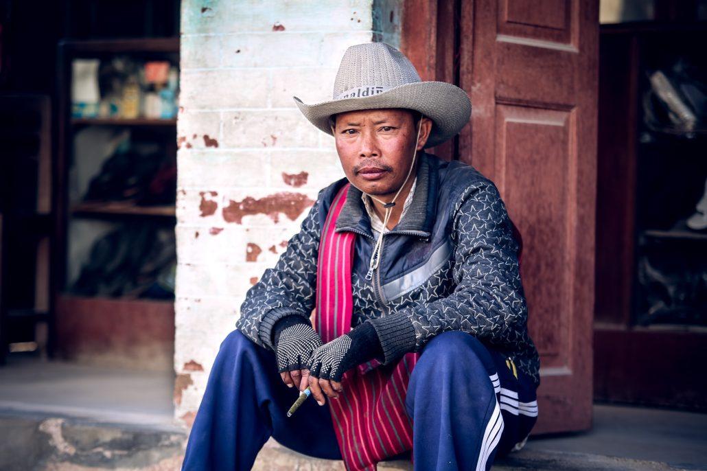 Burmese Cowboy