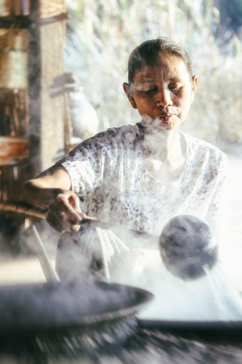 Myanmar : sirop de palme