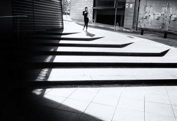 Silhouette géométrique