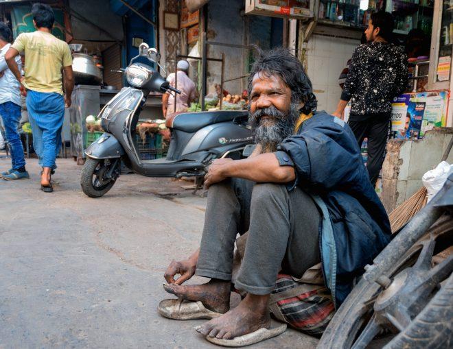Bazar indien de Delhi