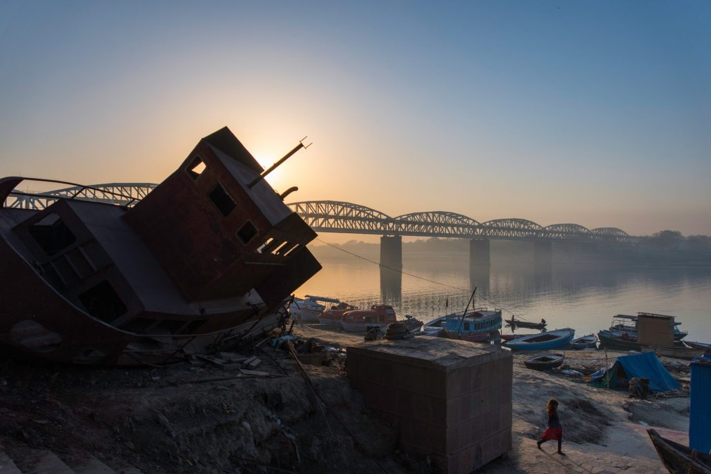 Gange à Varanasi