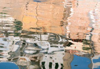 Reflet sur le Gange