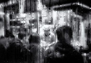Omoide yokocho sous la pluie