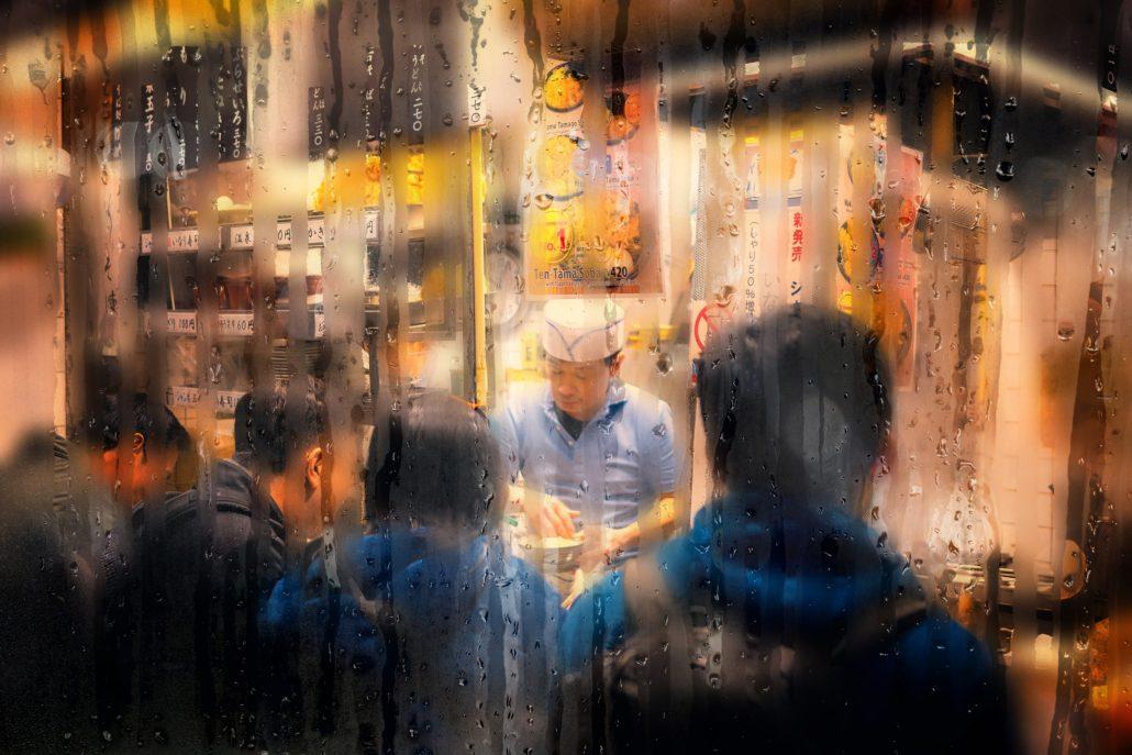 Izakaya sous la pluie