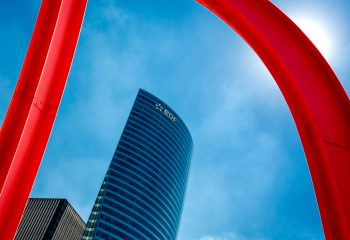 Variante verticale en rouge et bleu !