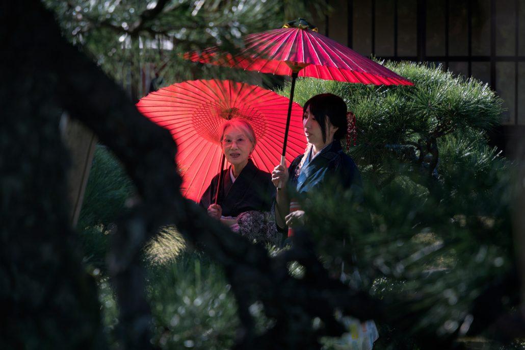 Japonaises à Kyoto