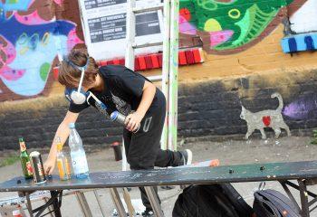 Graffitis Berlin