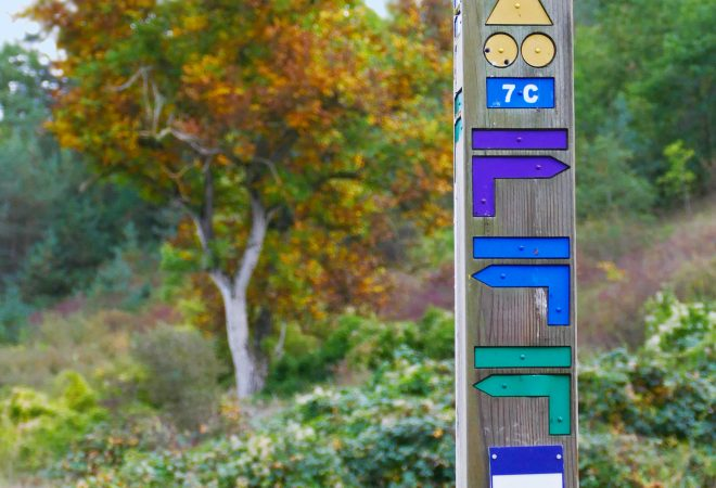Parcours colorés…