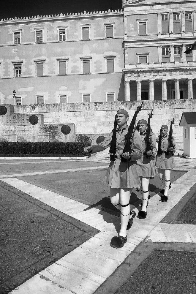 Athenes..la relève