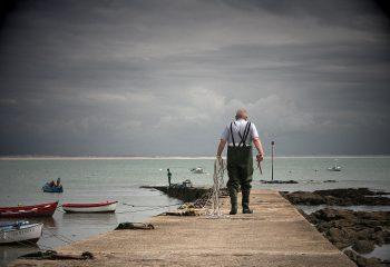 L'homme qui prend la mer