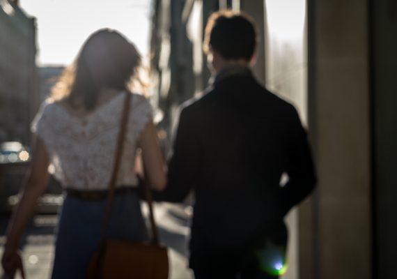 les amoureux dans la rue - paris - septembre 2016